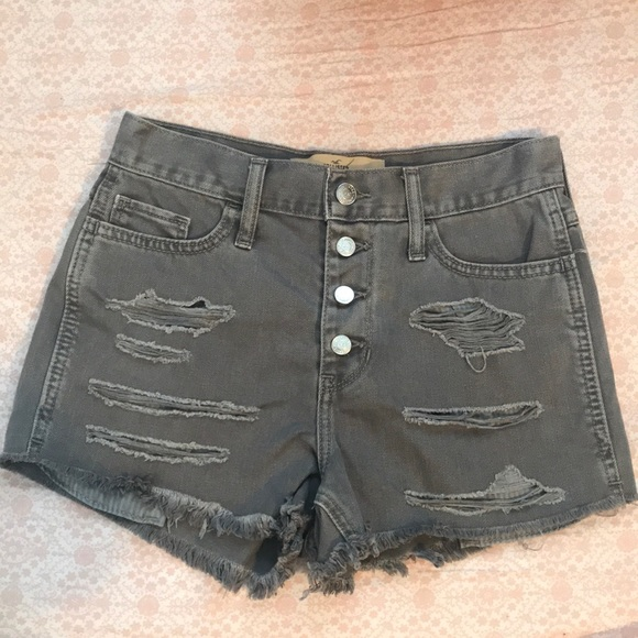 Hollister Pants - Brand new without tag Hollister Distress Shorts